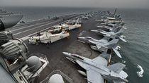 US Navy Evakuasi Ribuan Awak Kapal Induk yang Terjebak Virus Corona