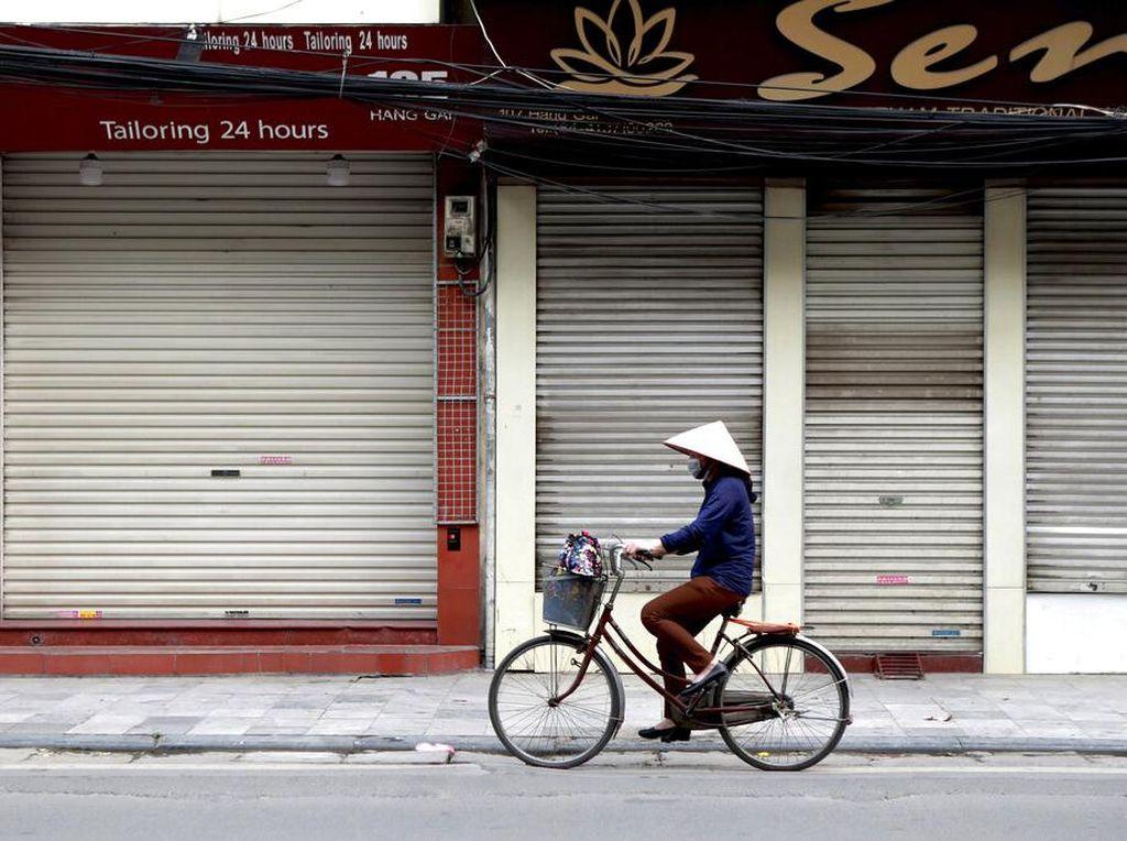 Kasus Baru Corona Belum Muncul Lagi, Hanoi Kini Bisa Santuy