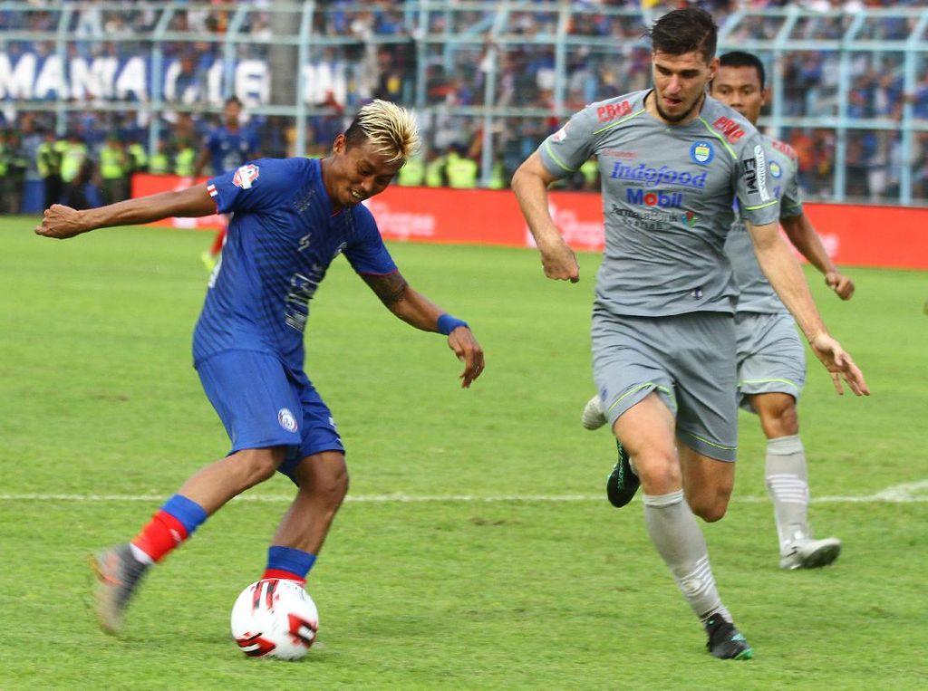 Tatap Shopee Liga 1, Arema FC Rencanakan Latihan Lagi