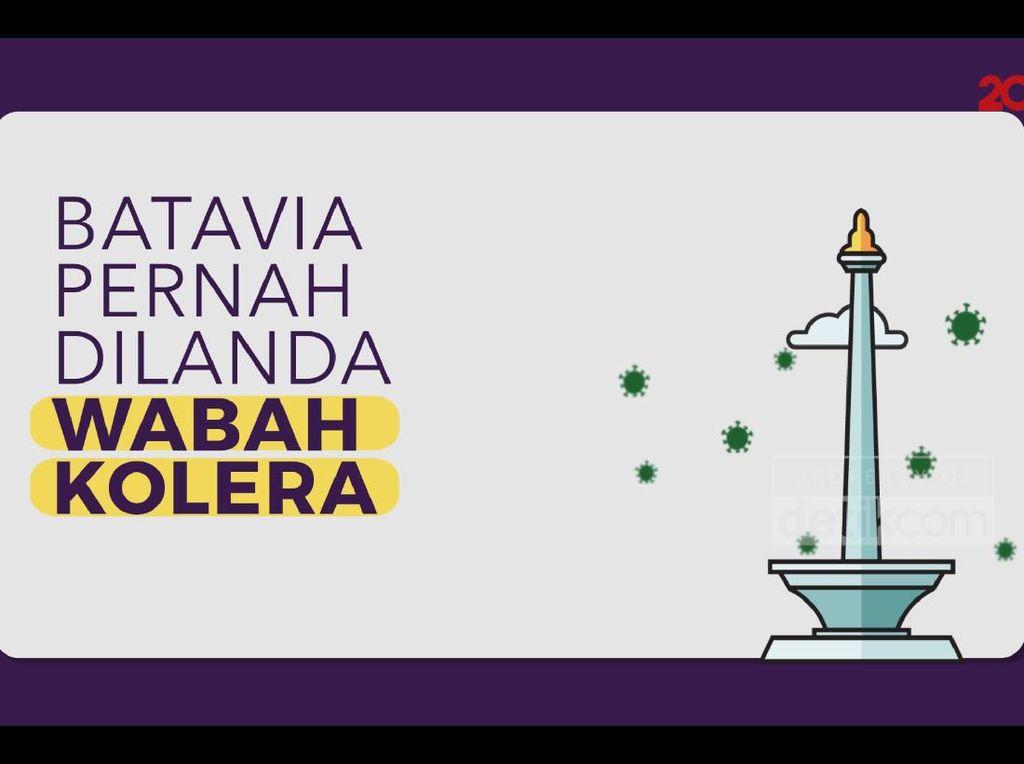 Wabah Kolera Pernah Landa Batavia, 6.000 Orang Lebih Meninggal