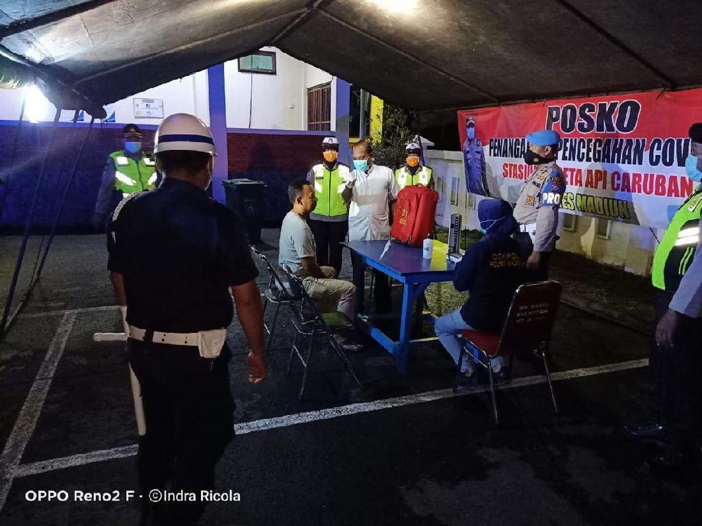 Kabupaten Madiun Zona Merah, Ada Posko Covid-19 di Terminal dan Stasiun