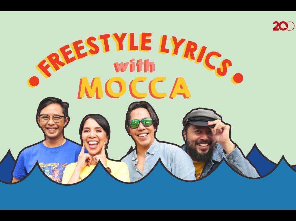 Kocak! Mocca Ditantang Freestyle Lyrics, Bisa Nggak Ya?