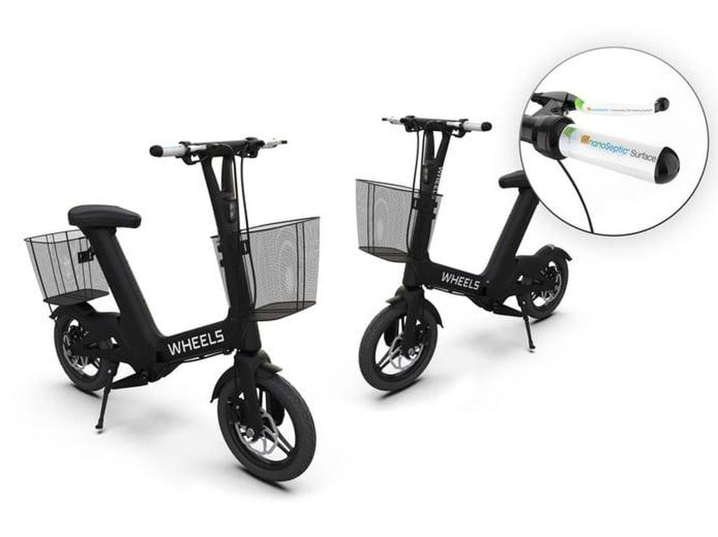 Ini Dia Sepeda Listrik Anti Virus Corona