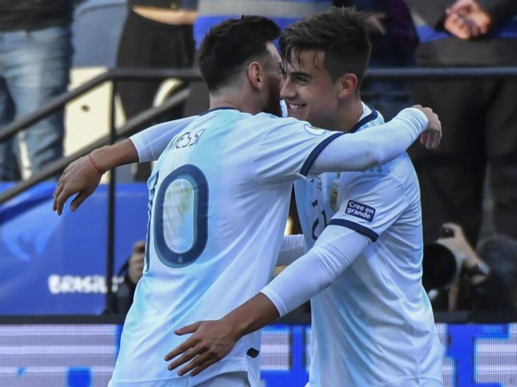 Dybala Menyesal Pernah Kritik Messi