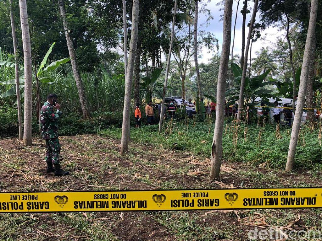 Mayat Seorang Perempuan Ditemukan di Ladang Sengon Malang