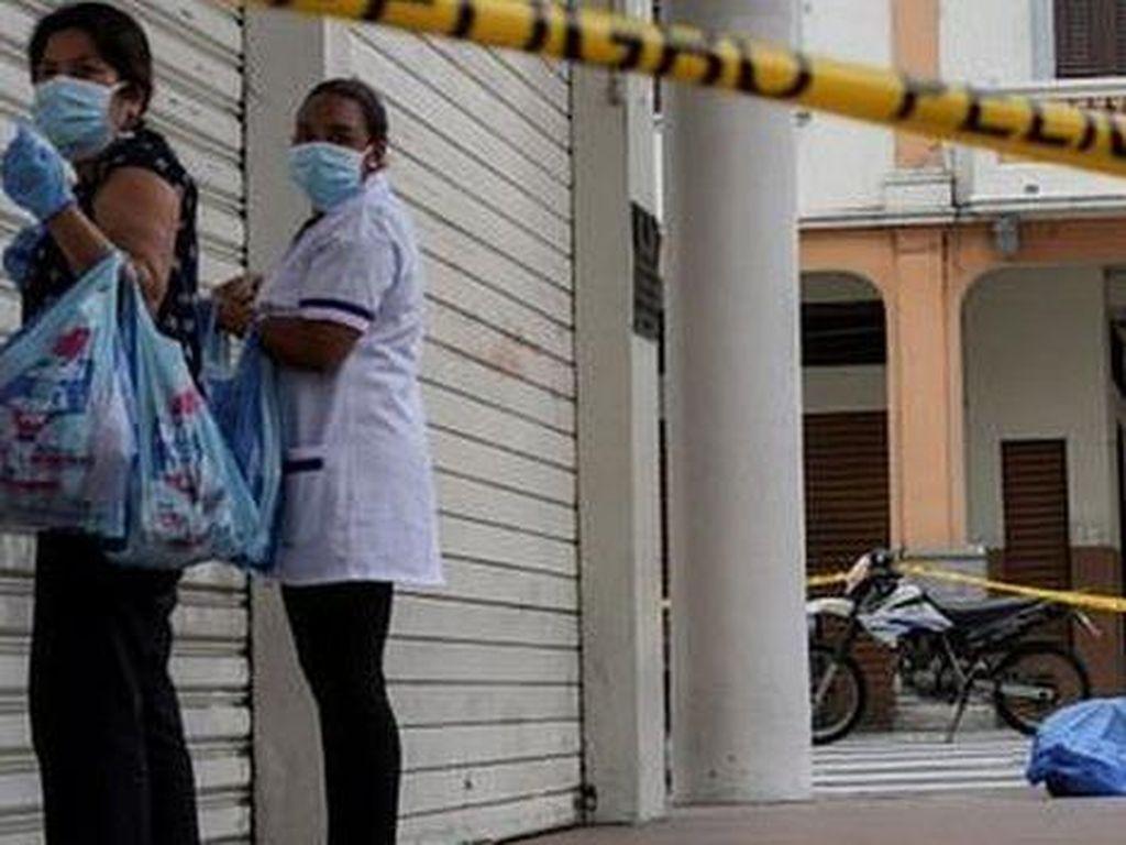 Kisah Kota Kewalahan Urus Jasad Korban Corona, Dibiarkan Tergeletak di Jalan