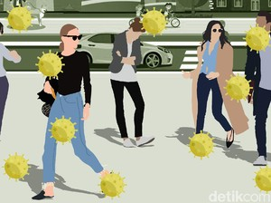Data Efek Virus Corona ke Wisata RI per 23 April 2020