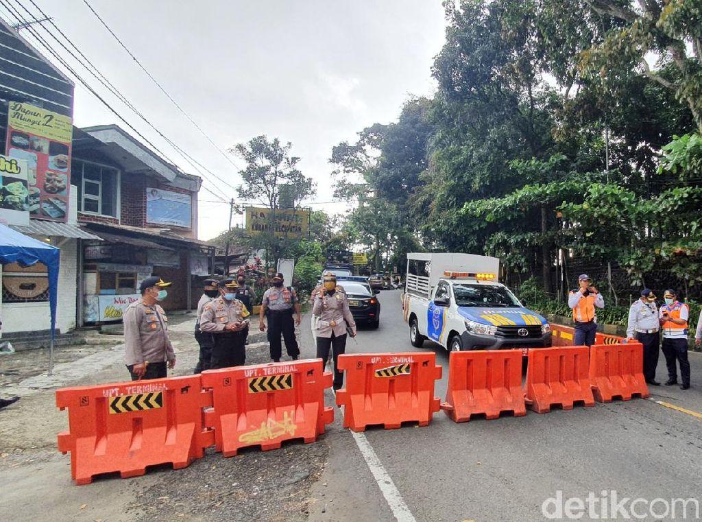 Pemkot Sukabumi Berlakukan PSBB, Akses ke Setukpa Polri Dialihkan