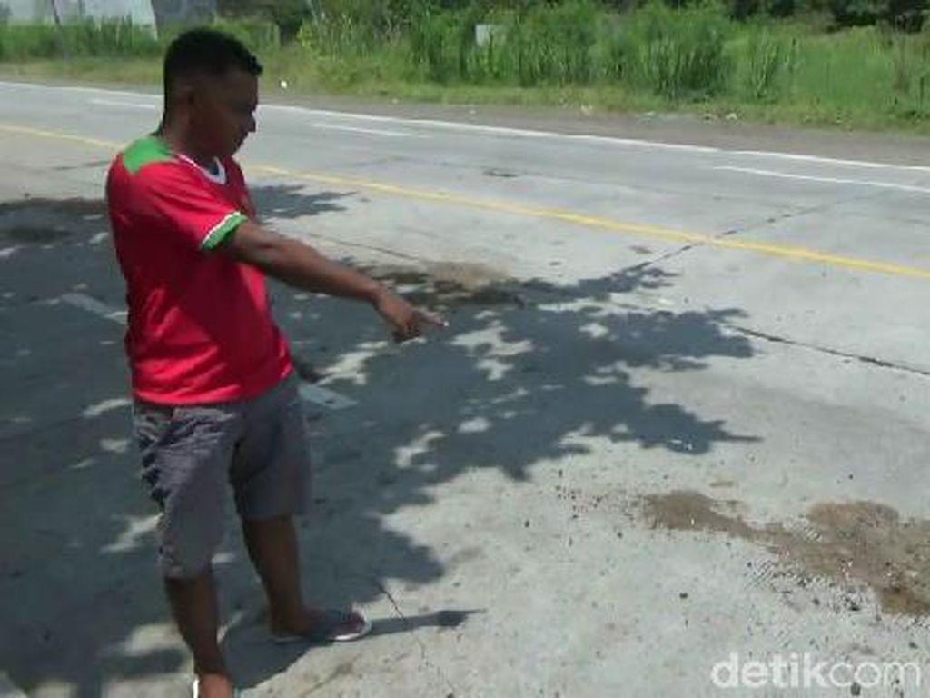 Pemotor di Probolinggo Kritis Tertabrak MPV, Anak dan Istrinya Tewas