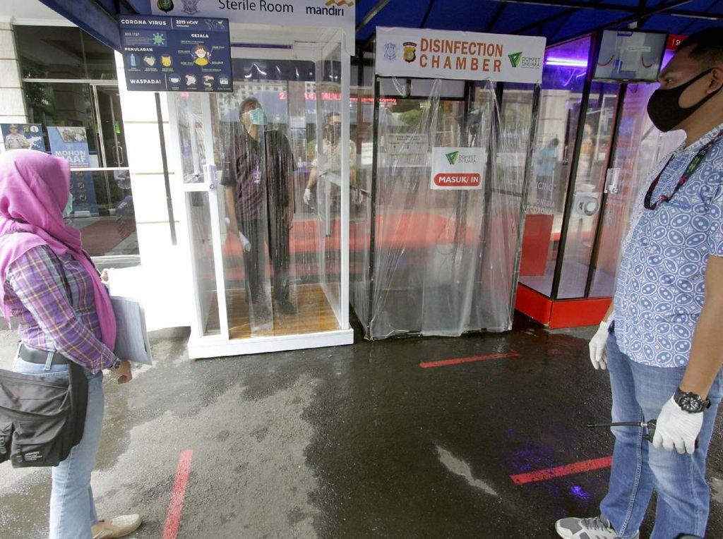 Bilik Antiseptik untuk Polda Metro Jaya
