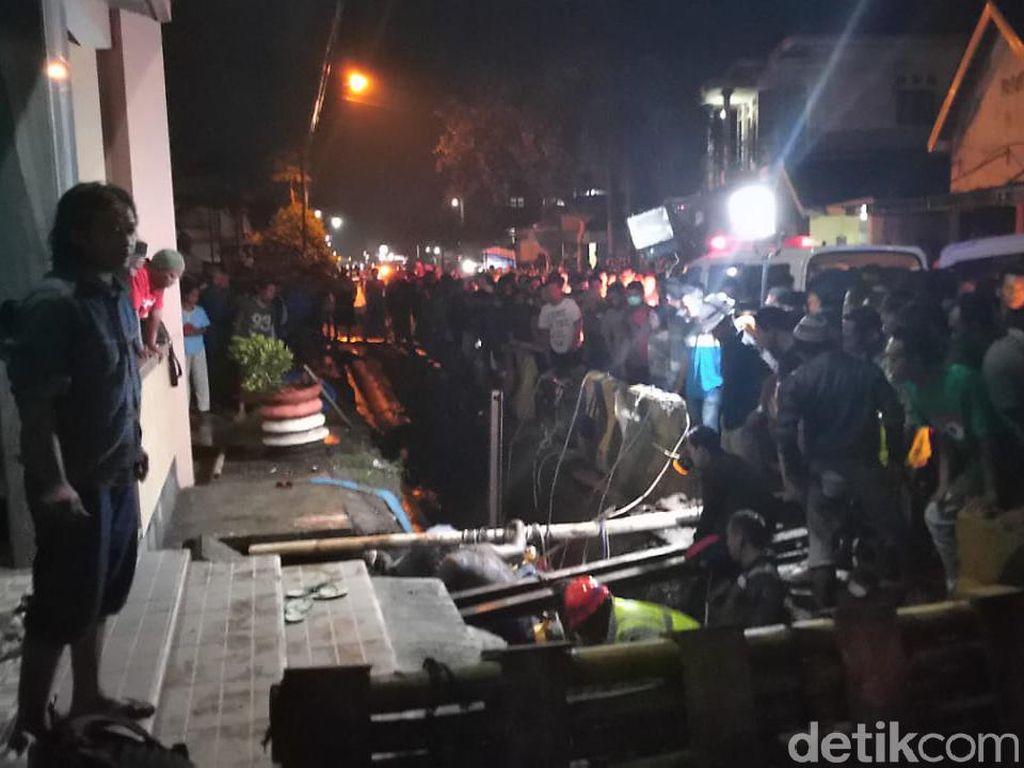 Proyek Pipa PDAM Kota Malang Telan Korban Jiwa, Satu Tewas Tertimbun Galian