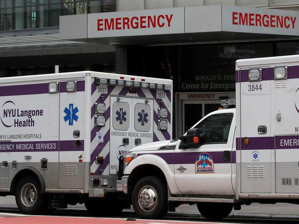 Ribuan Relawan Medis Datangi New York yang Kewalahan Tangani Pasien Corona