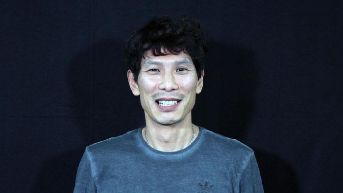 Staf pelatih Timnas Indonesia, Gong Oh-kyun.