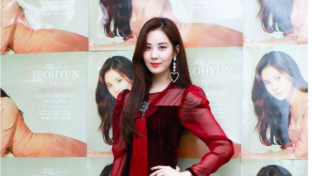 Seohyun SNSD dengan gaun mini dress