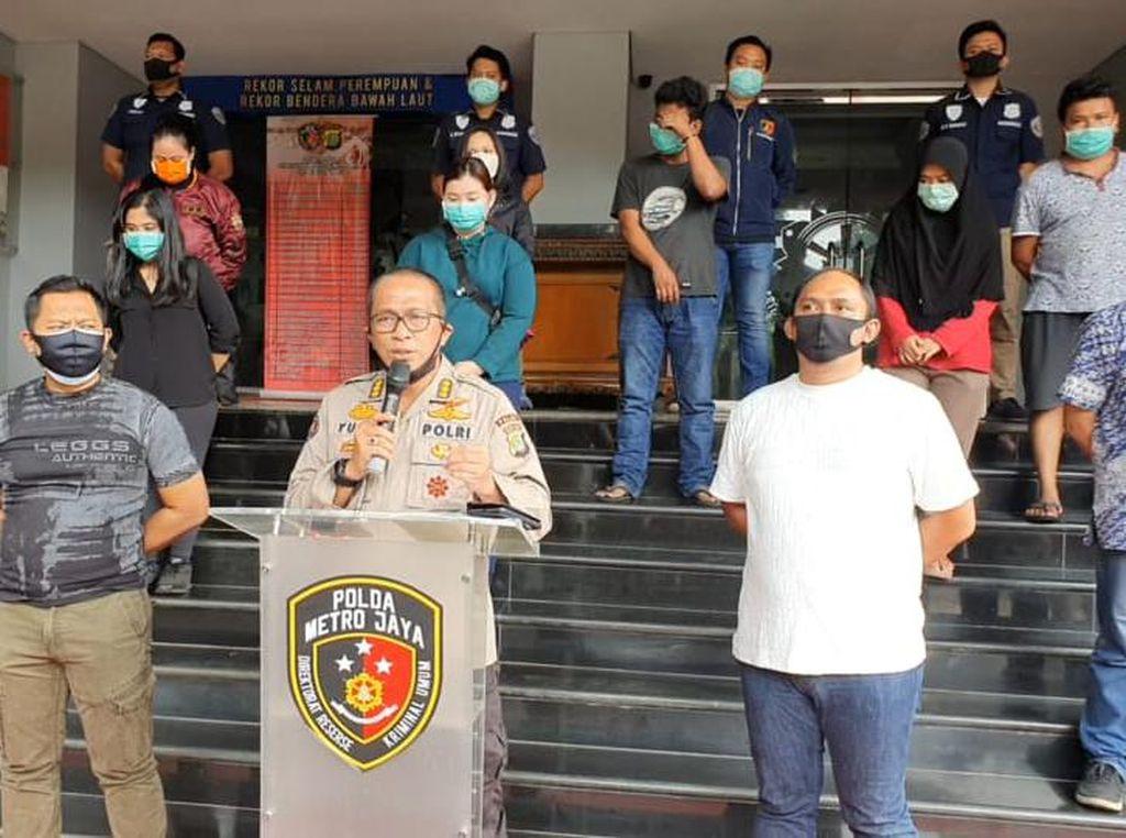 Nongkrong di Tengah Wabah Corona, 18 Anak Muda di Jakpus Diamankan Polisi