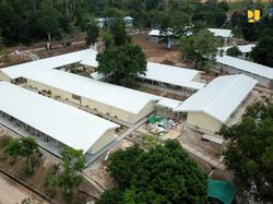 Kapasitas RS Khusus COVID-19 Pulau Galang Nyaris Penuh!