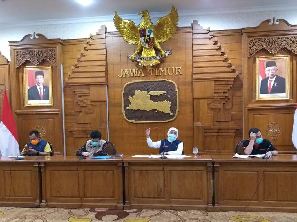 Gubernur Tambah 110 Tenaga Kesehatan Bantu RS Unair Tangani Pasien Corona