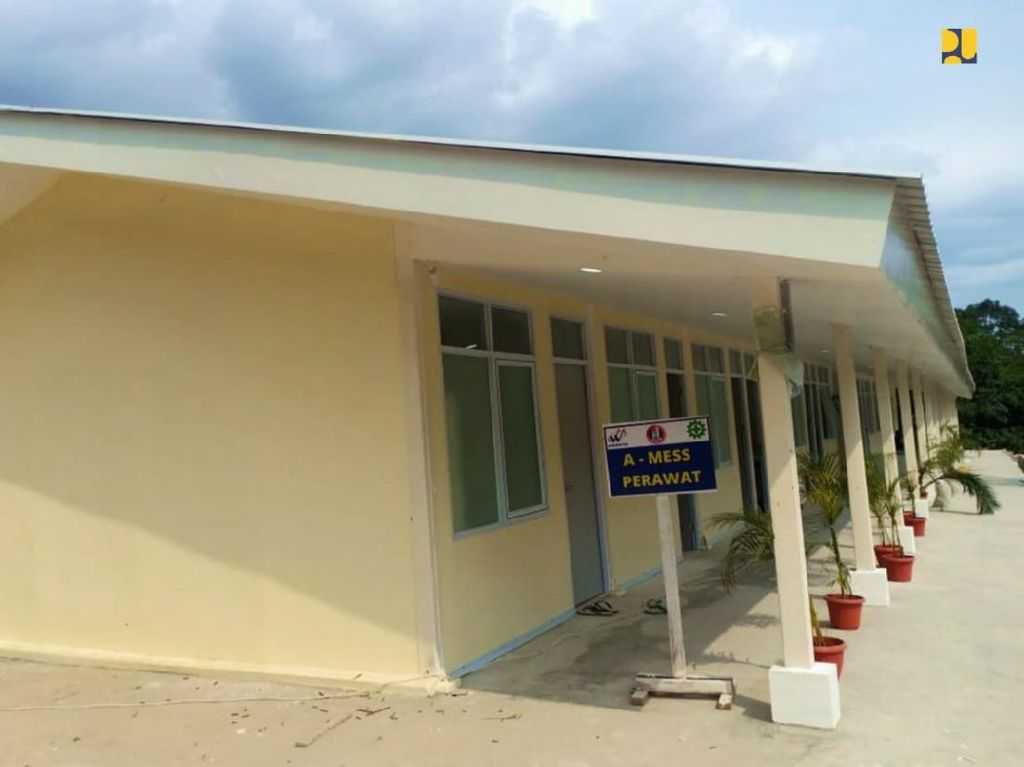 RS Corona Pulau Galang Rawat 2.193 Orang Sejak Dibuka, Kini Ada 242 Pasien
