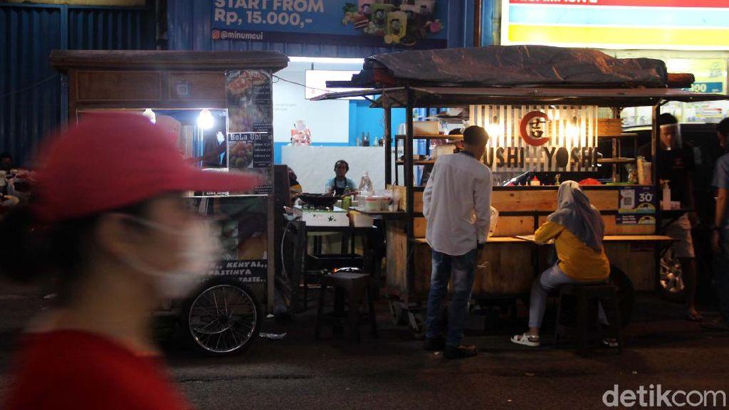 Pasar Lama Tangerang Sepi Gegara Corona