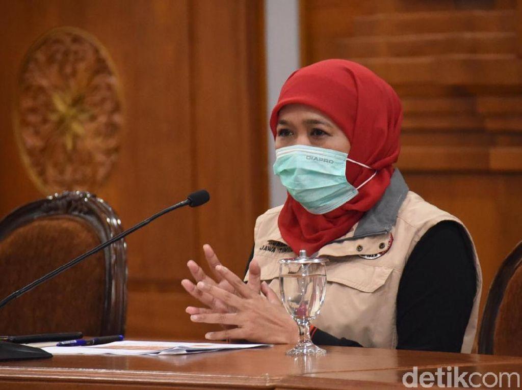Khofifah Wajibkan RS di Jawa Timur Salati Jenazah Pasien Covid-19