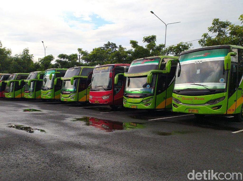 Gagal Jadi Transportasi Mudik, Bus AKAP/AKDP Tetap Dirawat