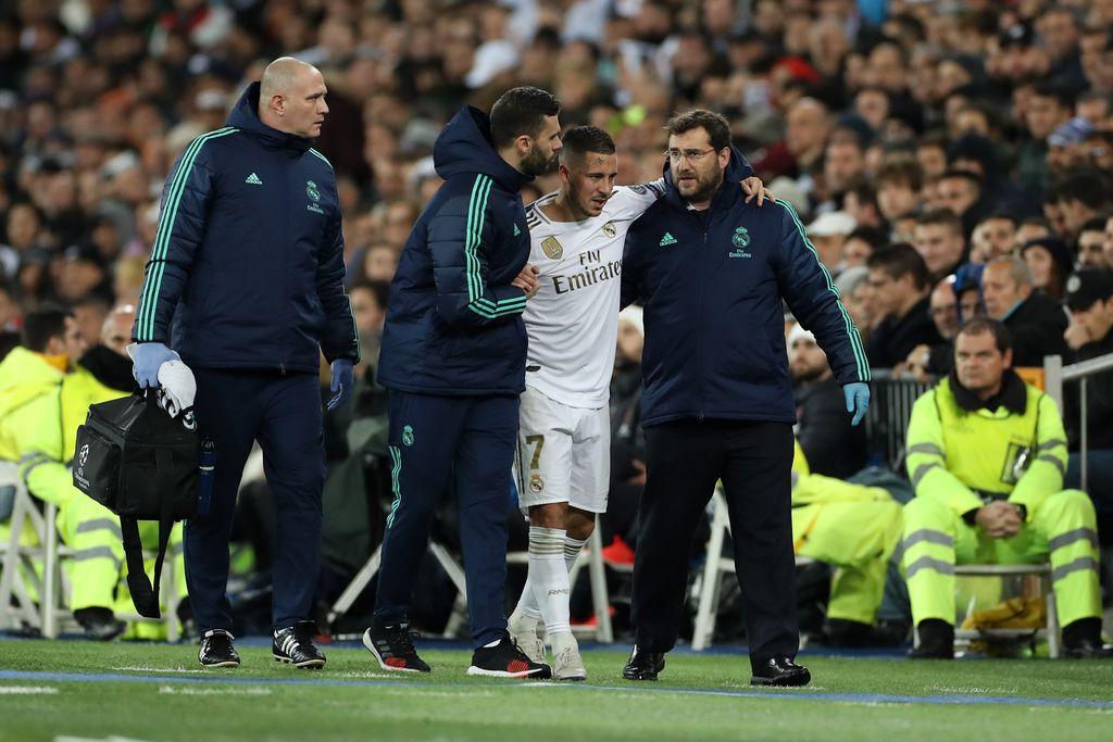 Eden Hazard di Real Madrid