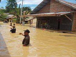 Banjir Rendam 4 Desa di Tanah Paser Kaltim, Ketinggian Capai 150 Cm