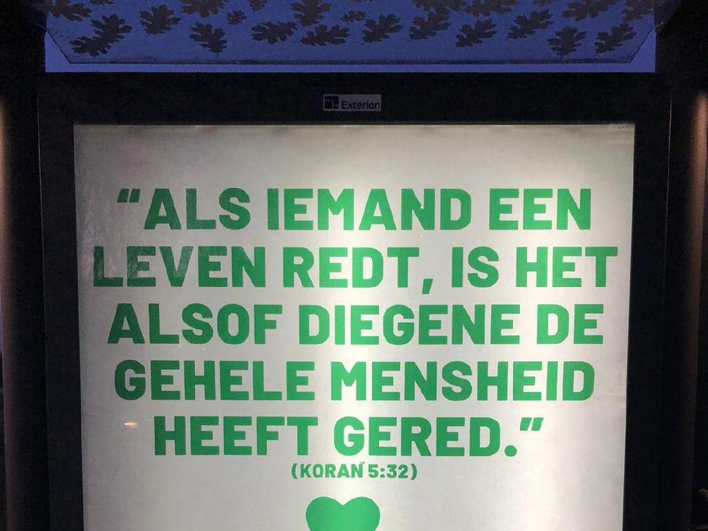 Warga di Belanda Kutip Al Maidah 32, Dukung Dokter & Perawat Pasien Corona