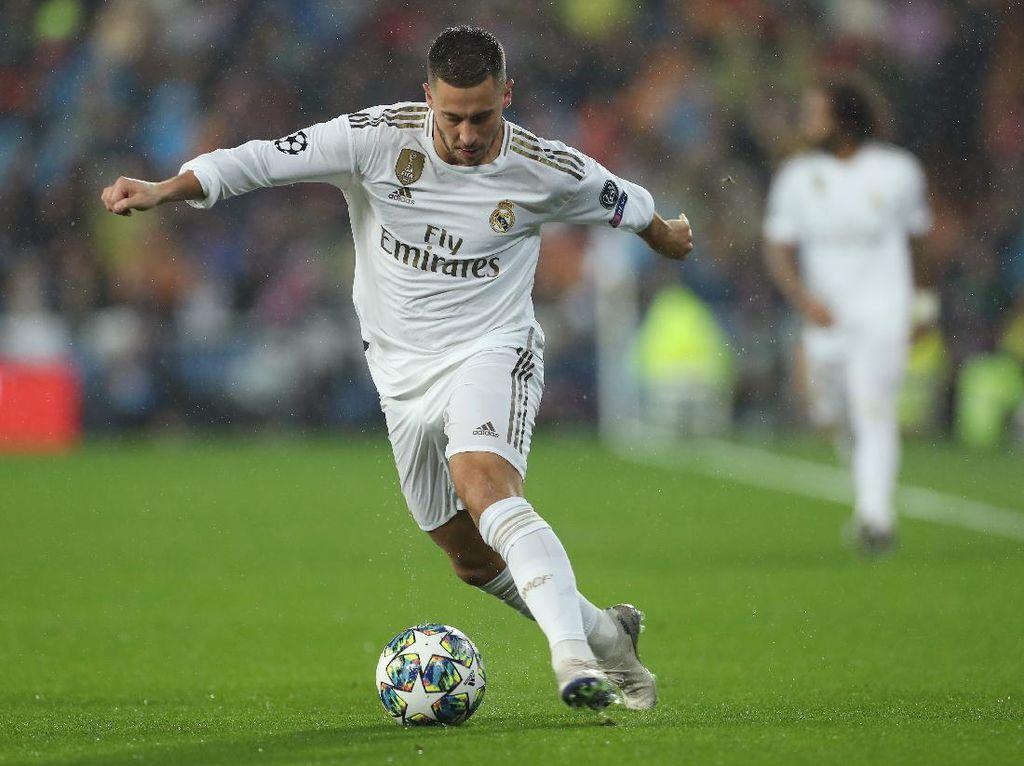 Madrid Butuh Eden Hazard di Perburuan Gelar Juara Liga Spanyol
