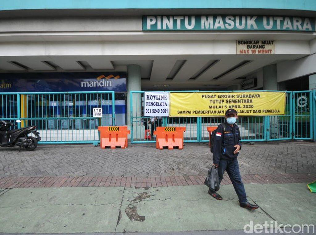 Dua Pasar di Surabaya Ditutup Imbas Corona, Miliaran Rupiah Menguap per Hari