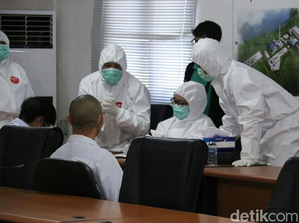 Waspadai Corona, 45 TKA China di Bengkulu Ikuti Tes Kesehatan