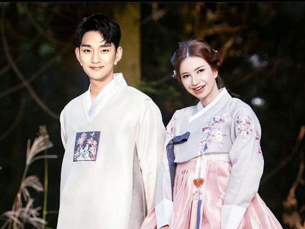 Kocak! Foto Pernikahan Halu Artis Indonesia dengan Aktor Korea