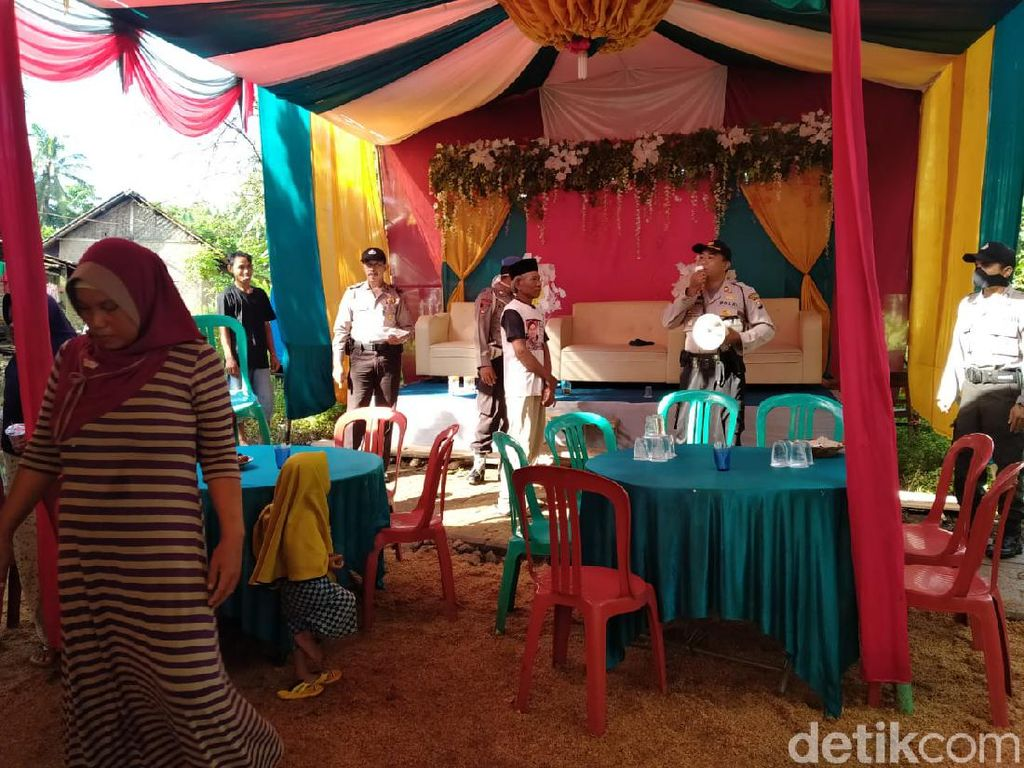 Didatangi Polisi, Resepsi Pernikahan Warga Pandeglang Batal