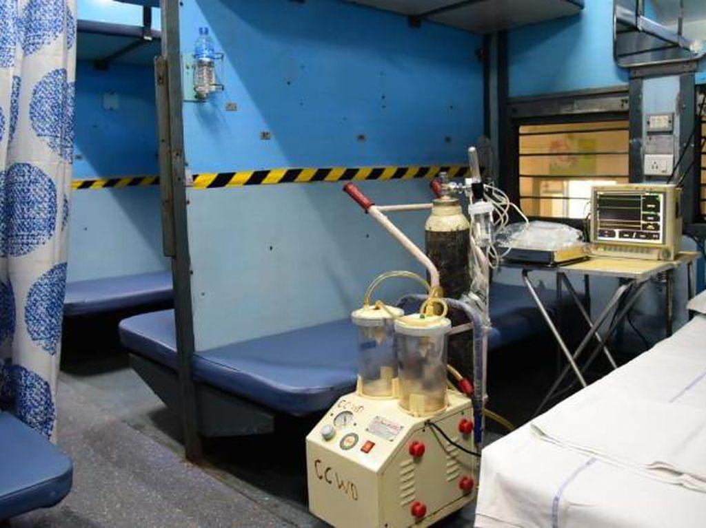 India Sulap Kereta Jadi Rumah Sakit Corona