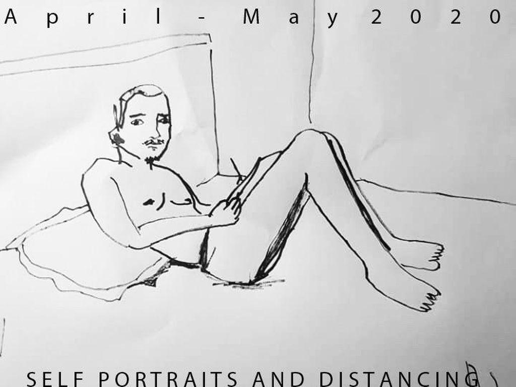Ajakan untuk Seniman Membuat Potret Diri Selama Momen Karantina