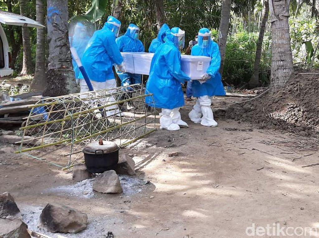 TKW Asal Polman yang Meninggal di Malaysia Dimakamkan Sesuai Protap COVID-19