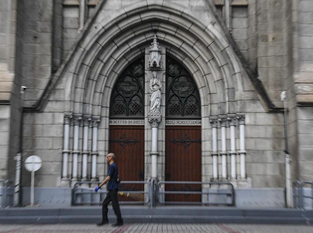 Giliran Gereja yang Ditutup Sementara Gegara Corona