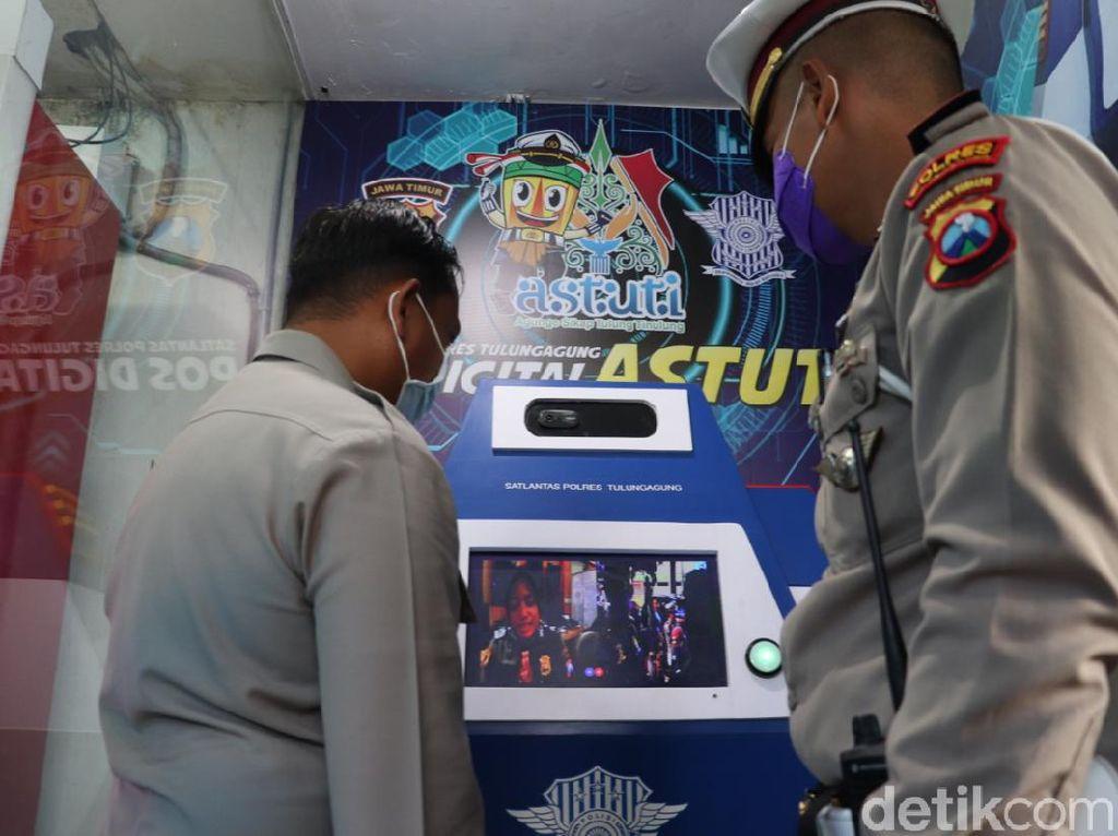Pos Digital Astuti, Layanan Polisi di Tulungagung Selama Pandemi Corona