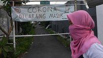 Cegah Sebaran Corona, Kampung di Surabaya Ini di-Lockdown Warga