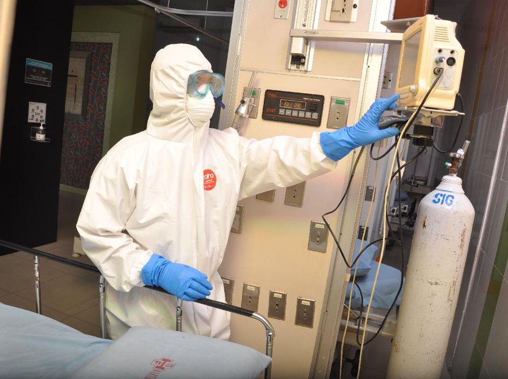Jual APD-Hand Sanitizer Tak Standar Medis di Tengah Corona Akan Dipidana