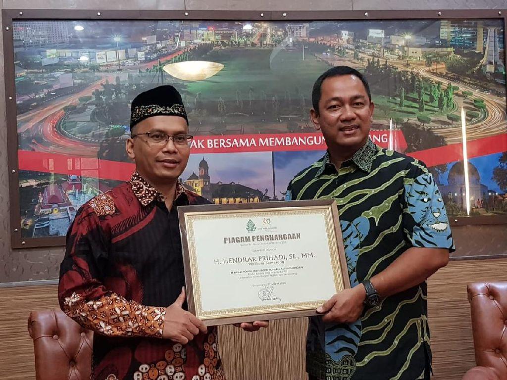 Wali Kota Semarang Raih Penghargaan Tokoh Peduli Lingkungan