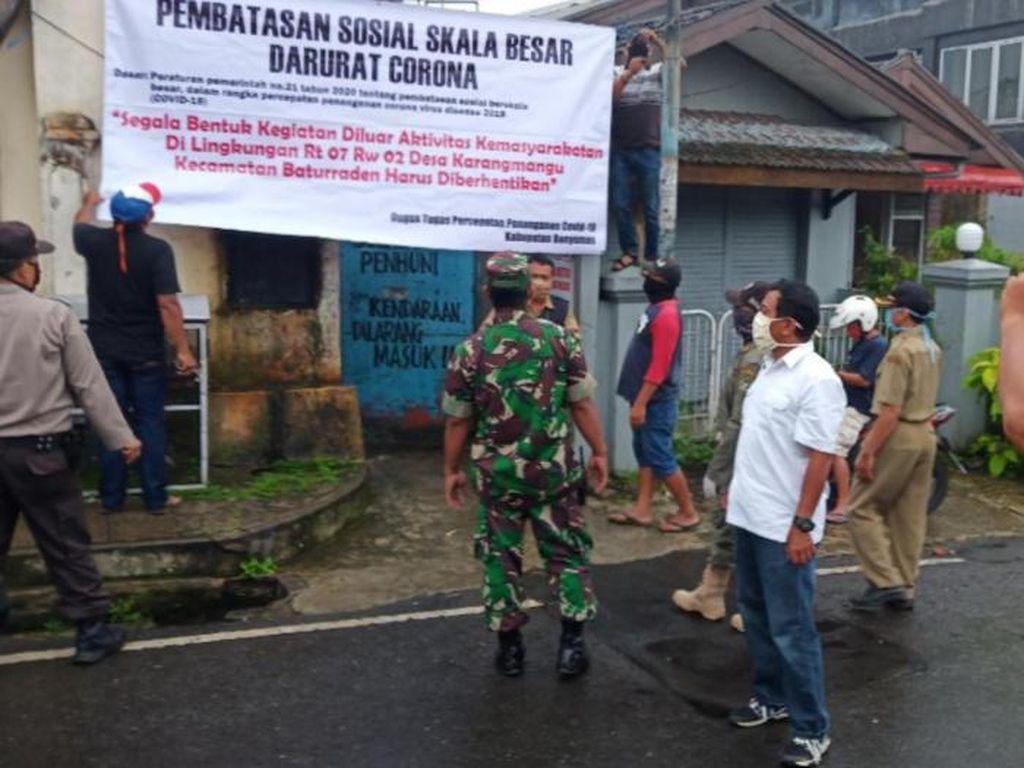 Corona Mewabah, Lokalisasi Gang Sadar Baturraden Di-Lockdown