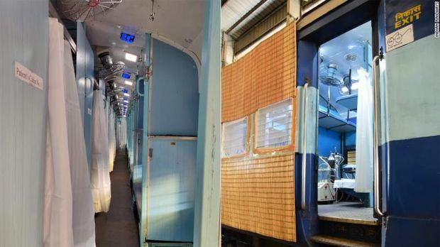 Kereta Api tertua di Asia dijadikan rumah sakit