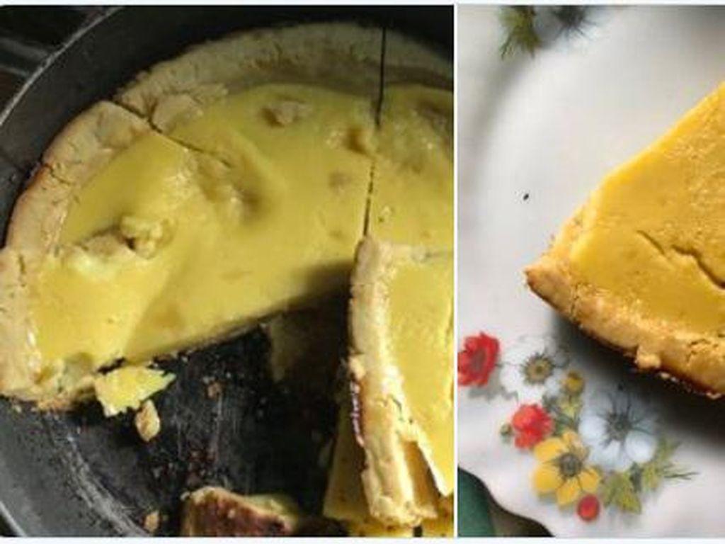 Hancur hingga Gosong, Begini Potret Gagal Pie Susu Teflon Bikinan Netizen