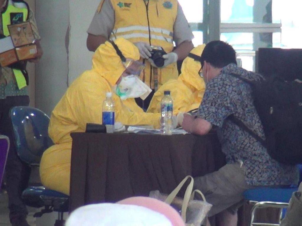 154 Pekerja Migran Indonesia dari Malaysia Jalani Rapid Test, Hasilnya?