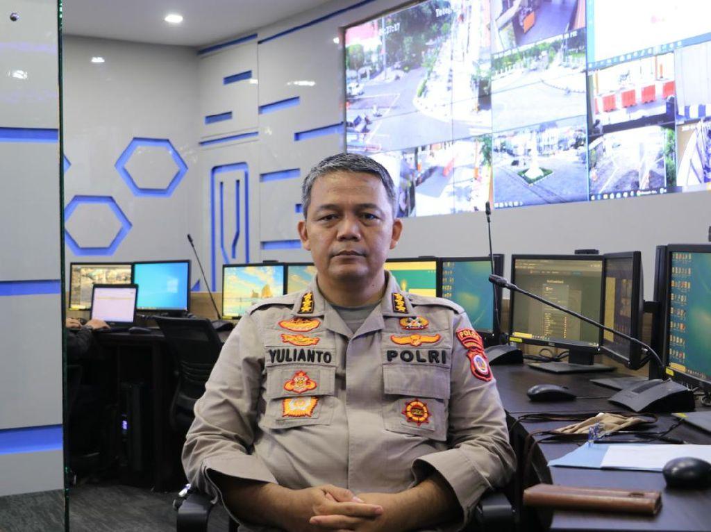 1.106 Polisi Dikerahkan untuk Monitor Penyebaran Corona di Yogya