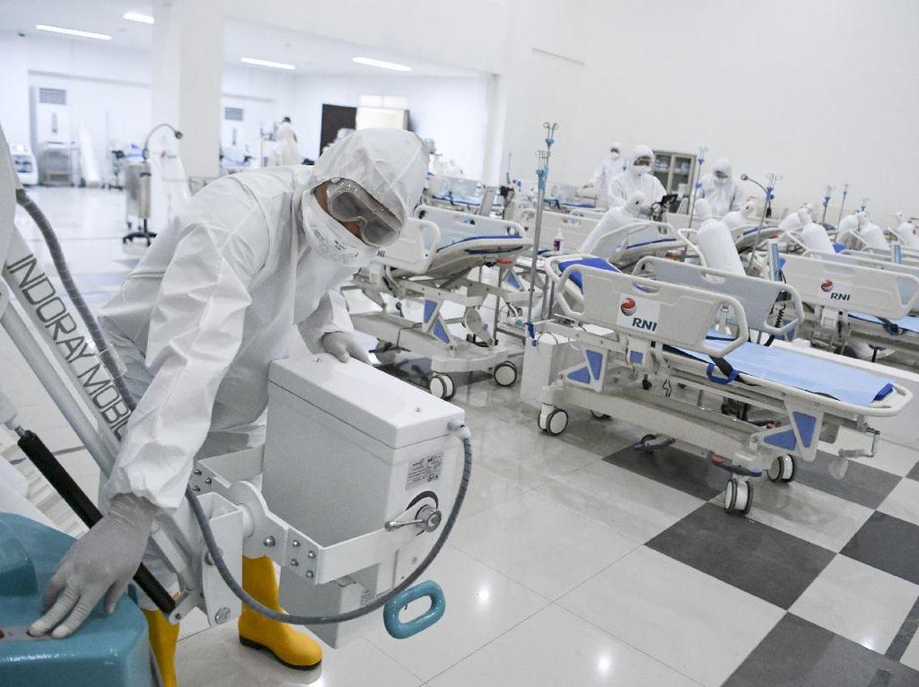 Manchester Operasikan Rumah Sakit Darurat Khusus Covid-19