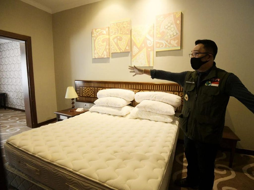 Pemprov Jabar Siapkan Hotel untuk Tenaga Medis yang Tangani Corona