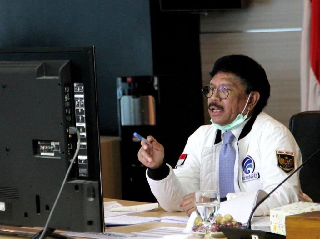 Menkominfo Buka Suara Terkait Gugatan RCTI Soal UU Penyiaran