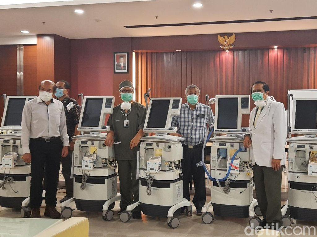Perlengkapan untuk Ruang ICU RSKI Unair Akan Datang Lusa